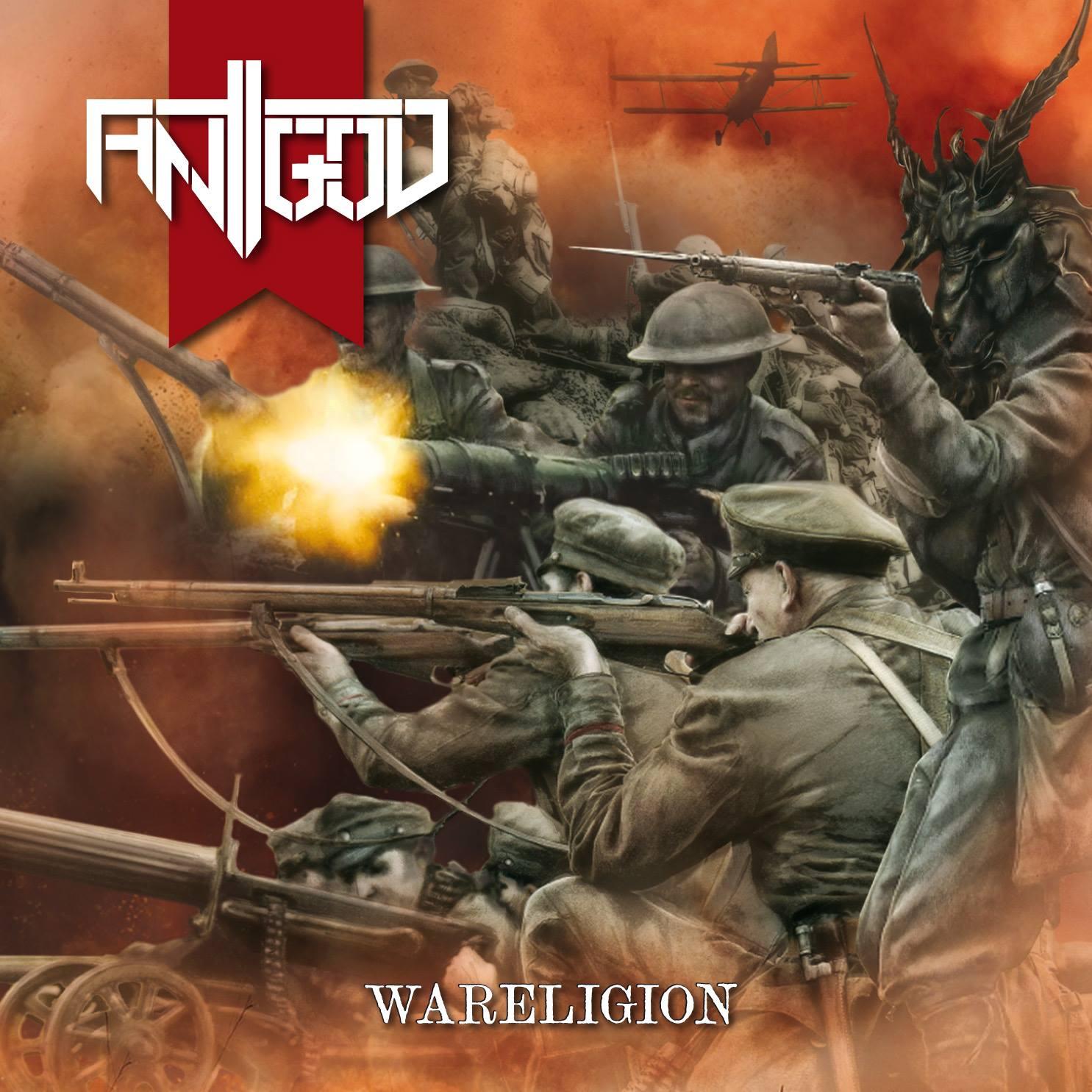 Antigod Wareligion Cursed Records